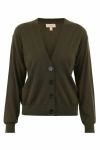 Burberry Cardigan With Elbow Patches