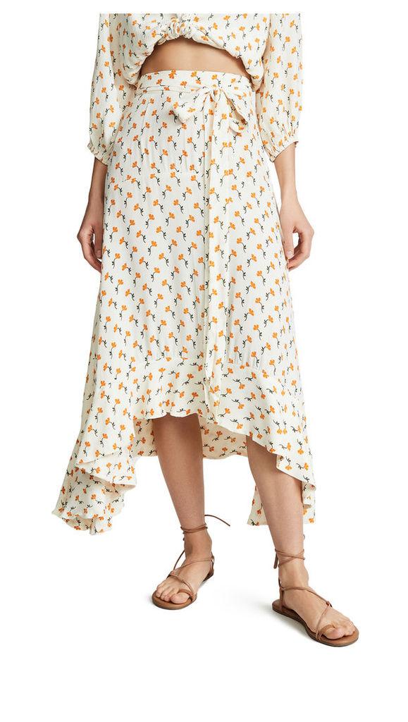 FAITHFULL THE BRAND Kamares Skirt