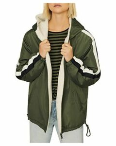 Sanctuary Track-Stripe Parka