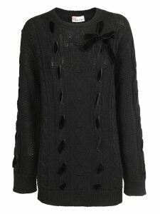 RED Valentino Bow Detail Jumper