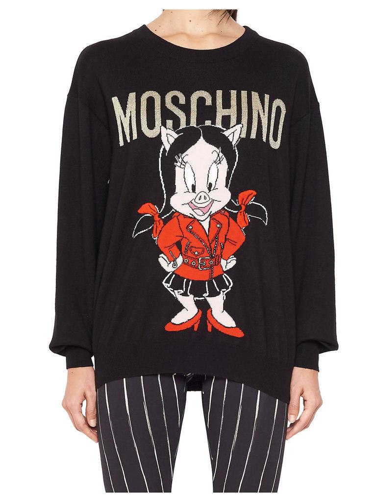 Moschino 'piggy' Sweater