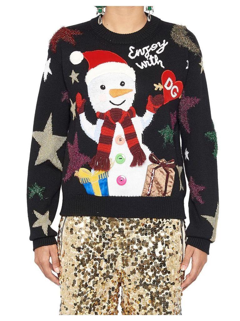 Dolce & Gabbana 'enjoy With Dg' Sweater