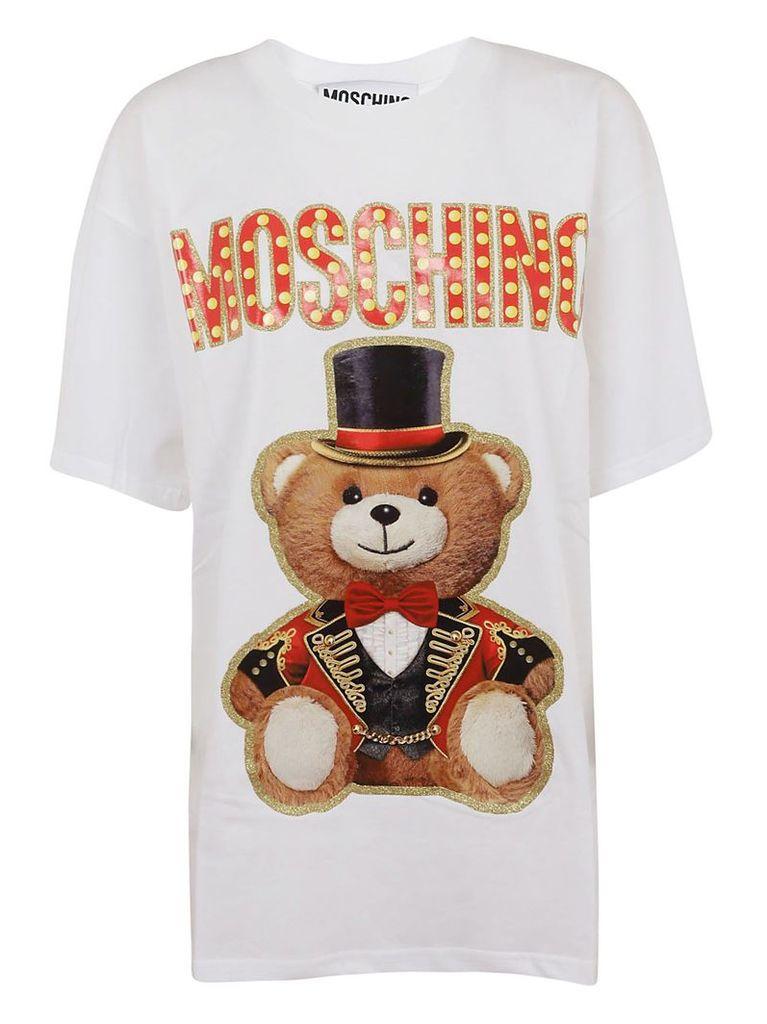 Moschino Bear And Logo Detail T-shirt