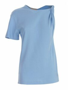 SEMICOUTURE Single-sleeved T-shirt