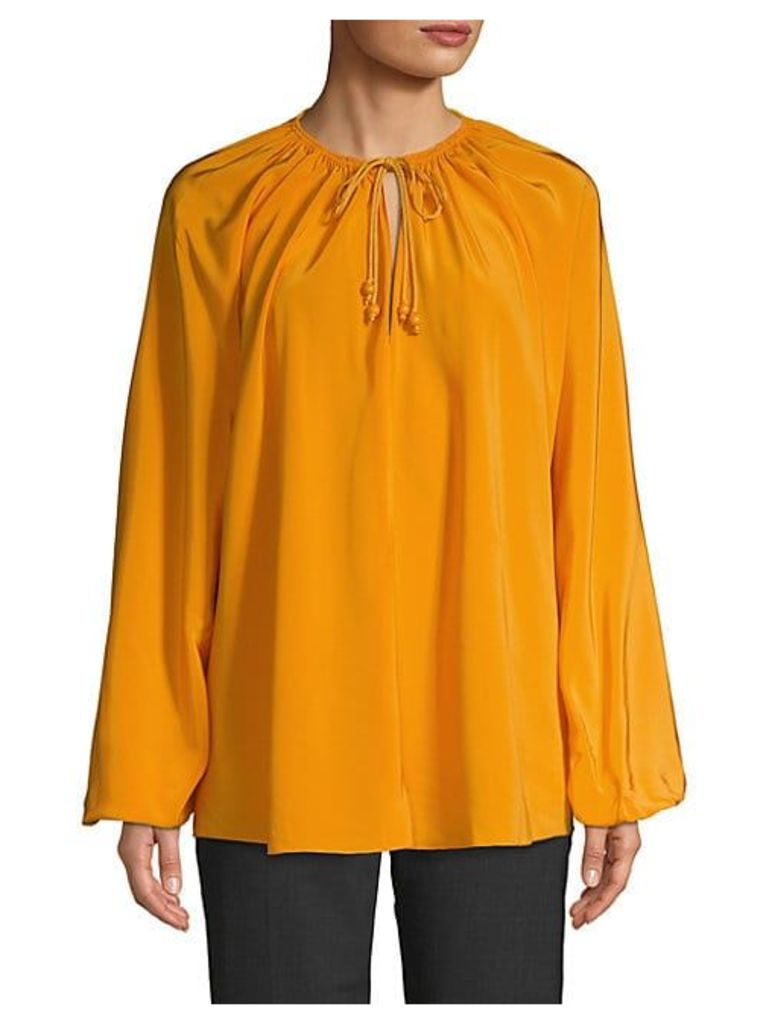 Chance Rope Tie Blouse