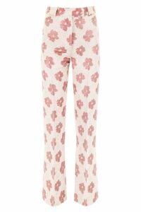 Golden Goose Floral Printed Palazzo Trousers