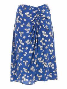 Parosh Floral Fantasy Skirt