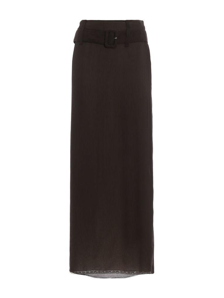 Prada Belted Skirt