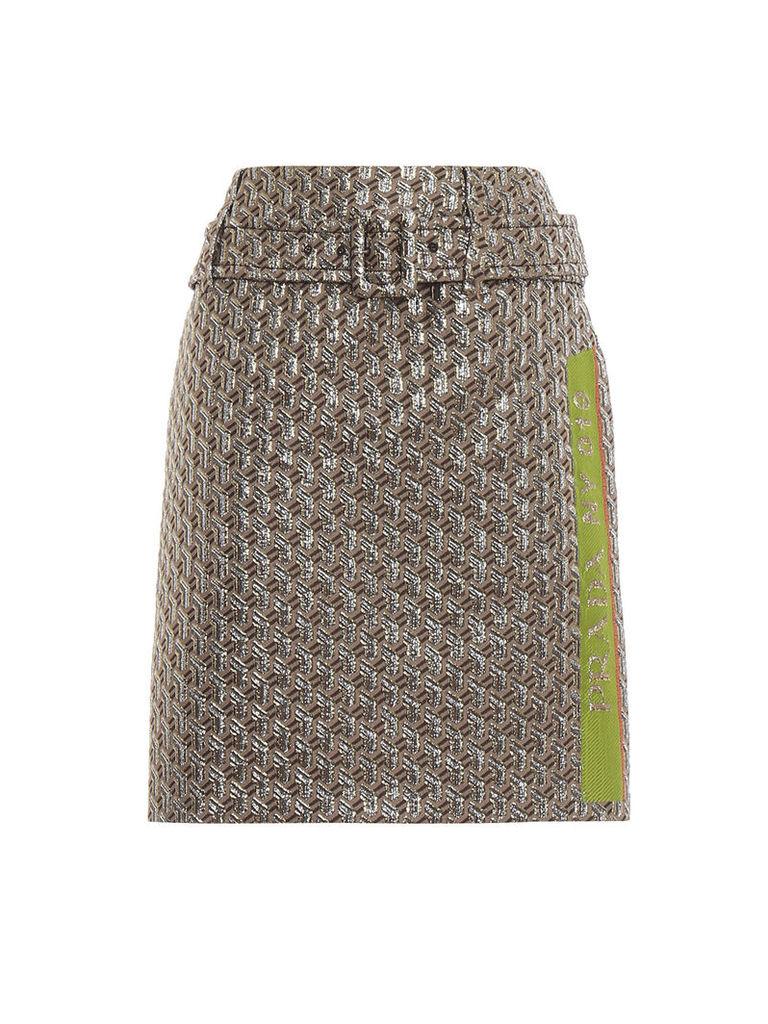 Prada Cloquet Skirt