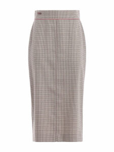 Fendi High Waist Midi Skirt