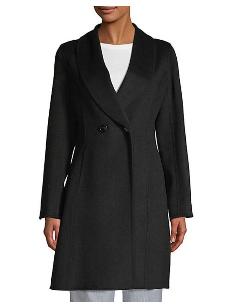 Carleigh Fitted Wool Coat