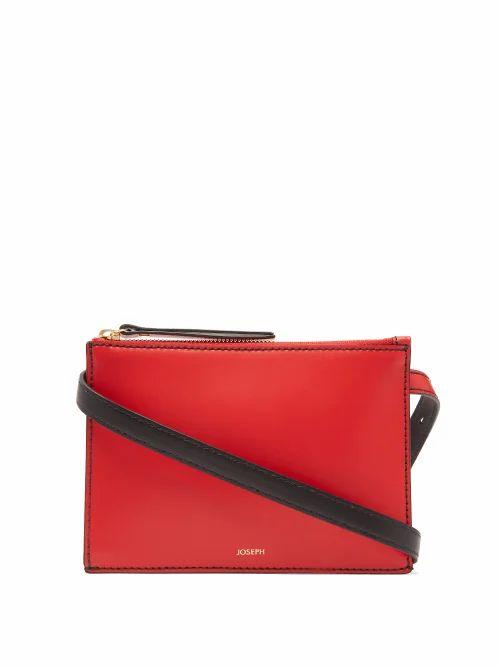 Joseph - Montmartre Leather Belt Bag - Womens - Red