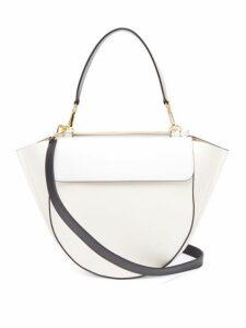 Wandler - Hortensia Medium Leather Shoulder Bag - Womens - White