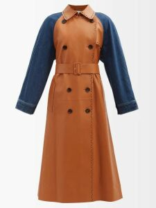 Athena Procopiou - Quiet Love Floral Print Silk Midi Dress - Womens - Black White