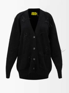 Athena Procopiou - Kalua Floral Print Silk Dress - Womens - Blue White