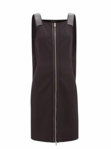Athena Procopiou - Kalua Print Silk Crepe Dress - Womens - Blue White