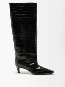Gucci - Ruffled Floral Print Cotton Blouse - Womens - Ivory Multi
