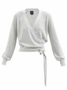 Toga - Pvc Panelled Wool And Linen Blend Coat - Womens - Black