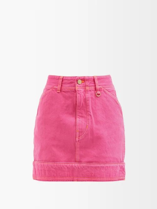 Allude - Ruffled Wool And Cashmere Blend Sweater - Womens - Navy