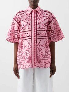 Sir - Marele Floral Print Maxi Dress - Womens - White Multi