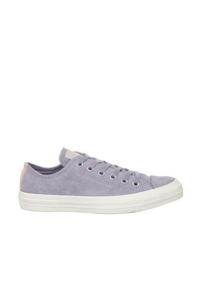 Womens **Converse All Star Low Trainers By Office - Purple, Purple