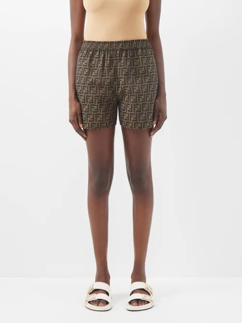 Moncler - Bergeronette Quilted Down Coat - Womens - Beige