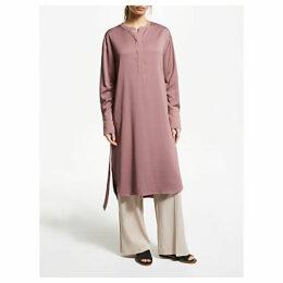 Modern Rarity Tie Waist Tunic Dress, Pink
