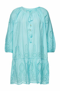 Melissa Odabash Ashley Cotton Dress with Broderie Anglaise