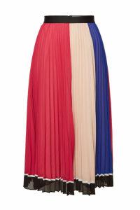 Self-Portrait Pleated Midi Skirt