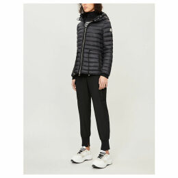 Raie hooded quilted coat