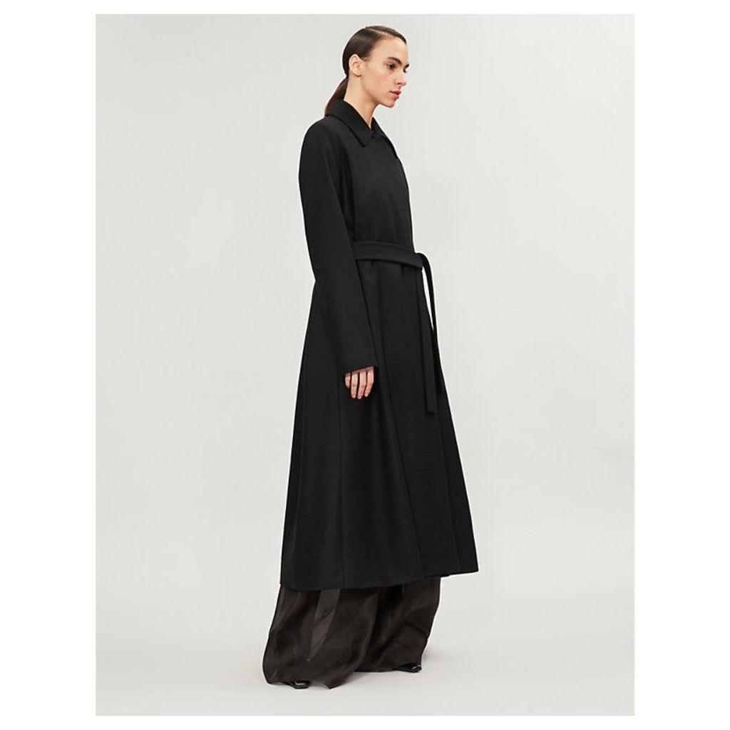 Toomana wool-blend coat