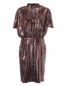 MSGM Sequin Longuette Dress