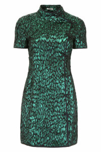 Miu Miu Jacquard Mini Dress