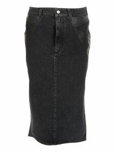 Givenchy Denim Pencil Skirt