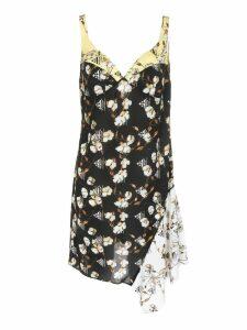 Off-white Crepe Short Love Dress
