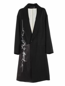 Haider Ackermann Cappotto Over C/ricamo Laterale