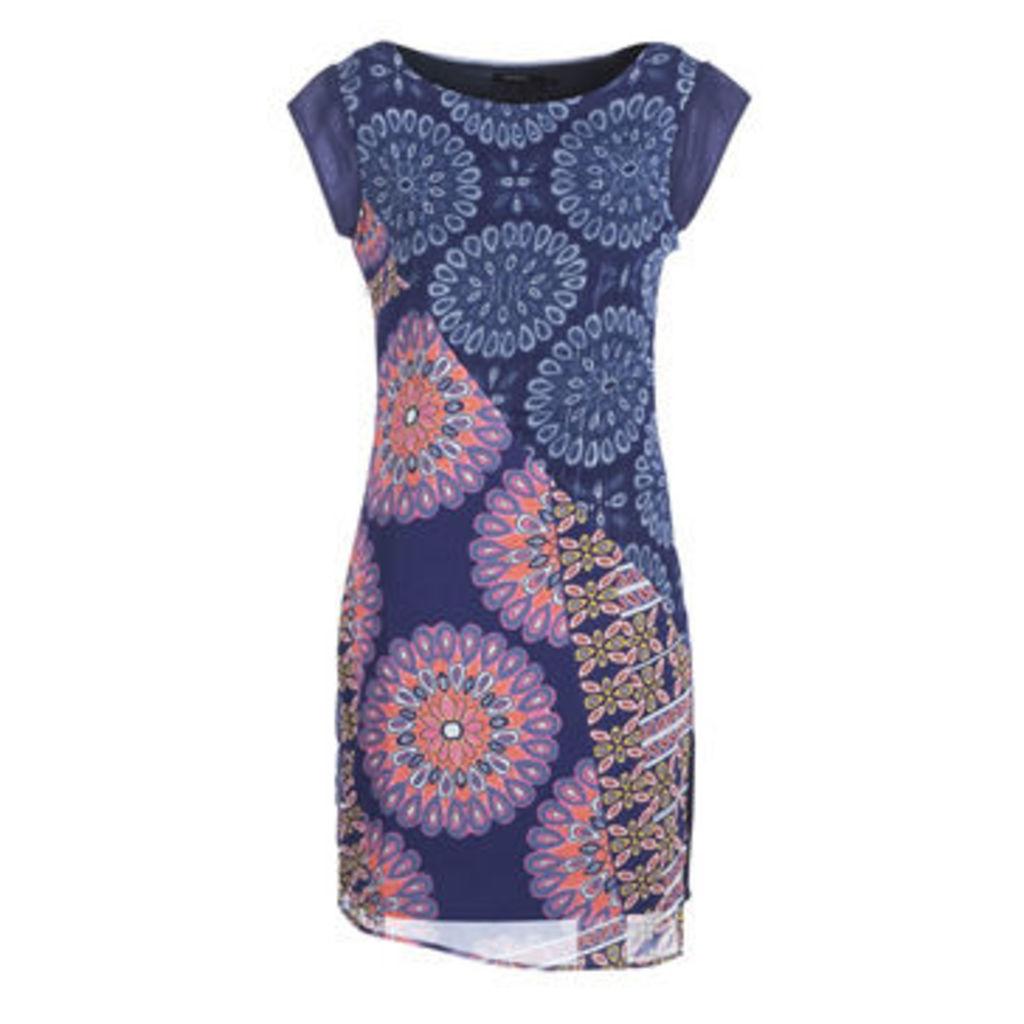 Desigual  KIROGA  women's Dress in Blue