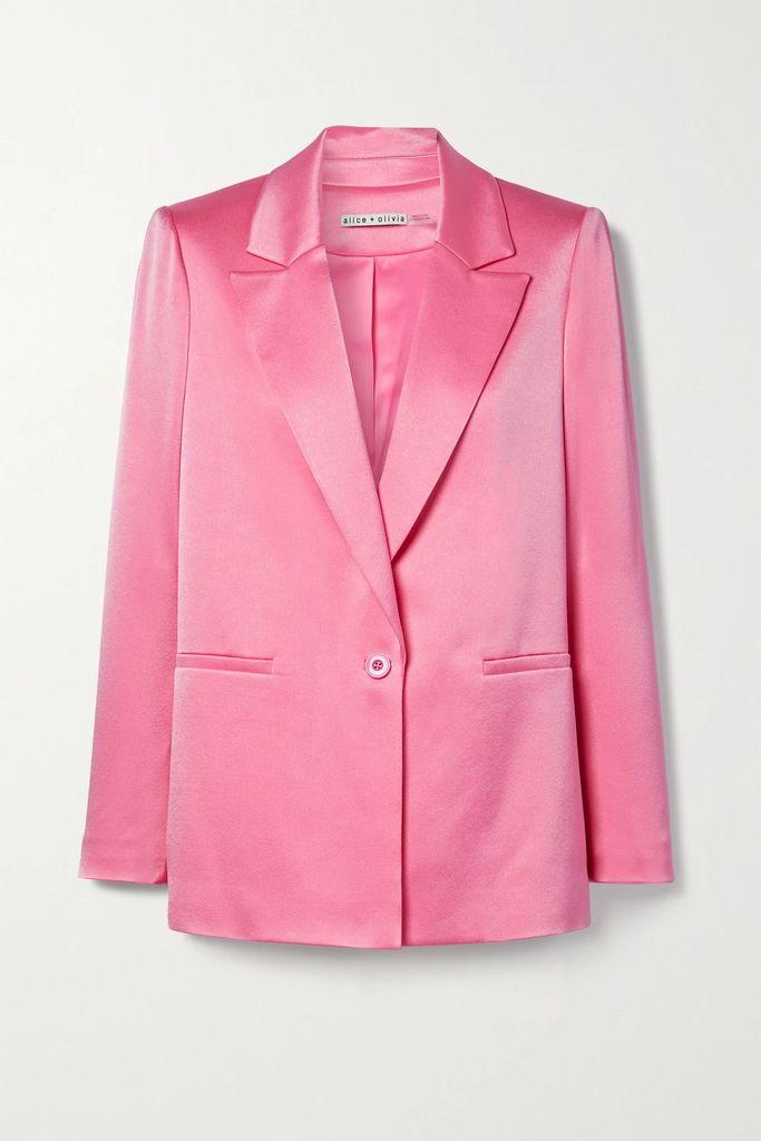 Balmain - Button-embellished Striped Jersey T-shirt - Black