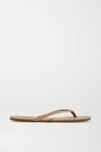 Balmain - Button-embellished Striped Jersey T-shirt - Black