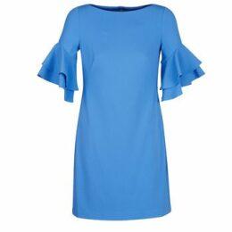 Lauren Ralph Lauren  BLUE DAY DRESS  women's Dress in Blue