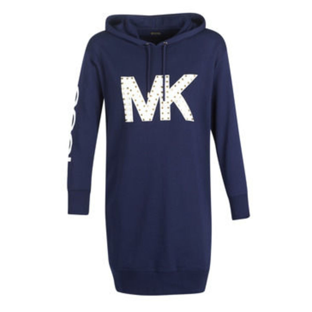 MICHAEL Michael Kors  MK OVRSZDSHRT  women's Dress in Blue