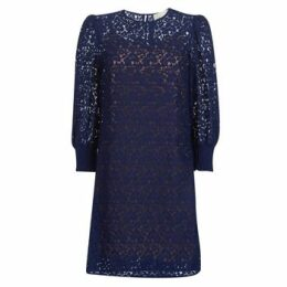 MICHAEL Michael Kors  BLOUSON SLV LACE DRS  women's Dress in Blue