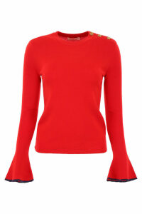 Tory Burch Pull With Flared Sleeves