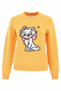Miu Miu Pull With Cats Intarsia
