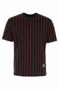 Alexander Wang Pinstripe Jersey T-shirt