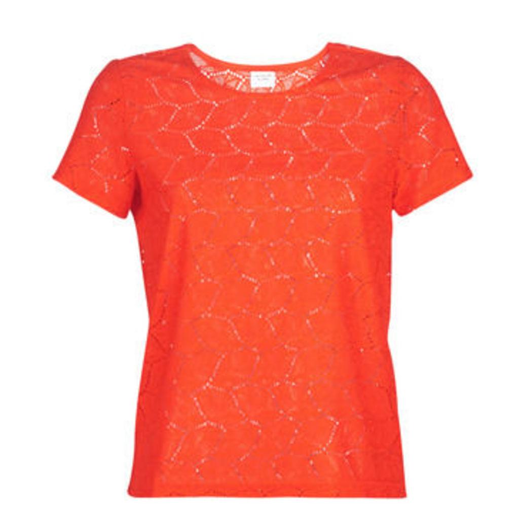JDY  JDYTAG  women's T shirt in Red