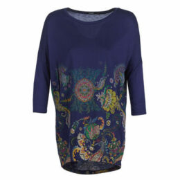 Desigual  CASSIDY  women's Tunic dress in Blue