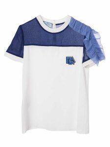 Prada Ruffle-detail T-shirt