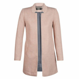 Only  ONLSOHO  women's Coat in Pink