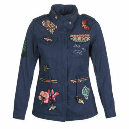 Desigual  DELIA  women's Parka in Blue